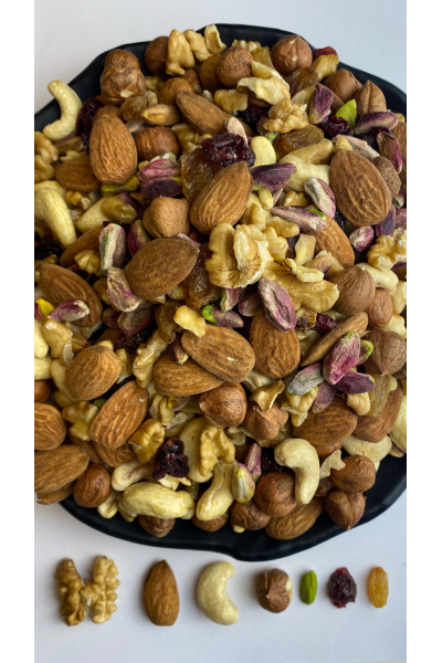 Unsalted Raw Mixed Nuts