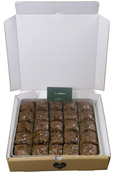 Chocolate Pistachio Baklava