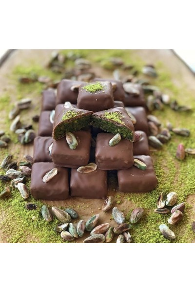Belgian Milk Chocolate Coated Pistachios Butter